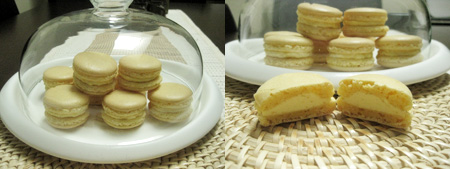 Macarons.